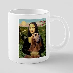 5.5x7.5-Mona-Bloodhound 20 oz Ceramic Mega Mug