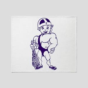 Fremont Ross Little Giants Throw Blanket