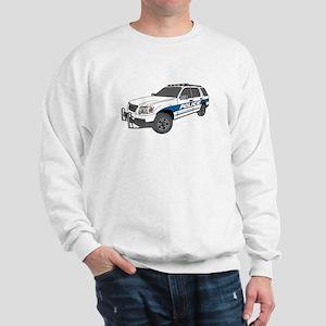 Police Car Sweatshirt