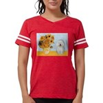5.5x7.5-Sunflowers-Bolognese1 Womens Football