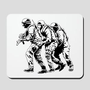 Police SWAT Team Mousepad