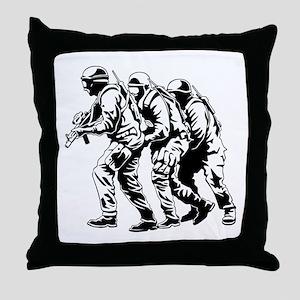 Police SWAT Team Throw Pillow