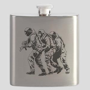 Police SWAT Team Flask