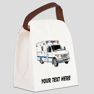 Ambulance (Custom) Canvas Lunch Bag
