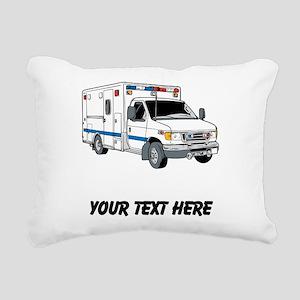 Ambulance (Custom) Rectangular Canvas Pillow