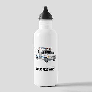 Ambulance (Custom) Water Bottle