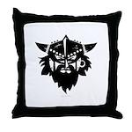 Viking Brute Throw Pillow