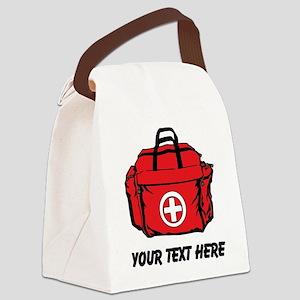 First Aid Kit (Custom) Canvas Lunch Bag