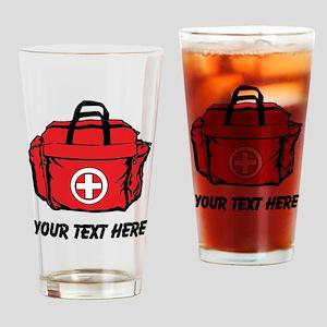First Aid Kit (Custom) Drinking Glass