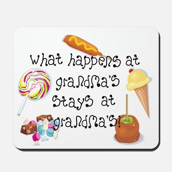 What Happens at Grandma's... Mousepad