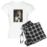 5.5x7.5-Ophelia2-BordC1 Women's Light Pajamas