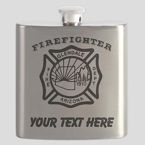 Glendale Arizona Firefighter (Custom) Flask