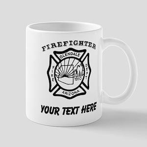Glendale Arizona Firefighter (Custom) Mugs