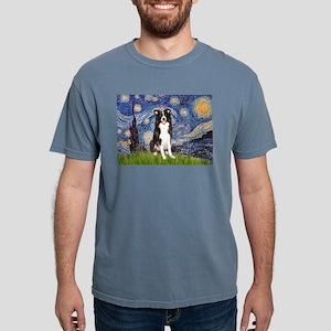 5.5x7.5-Starry-BordC1 Mens Comfort Colors Shir