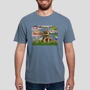 MP-LILIES2-BorderT Mens Comfort Colors Shirt