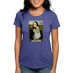 card-Mona-Borzoi1b Womens Tri-blend T-Shirt