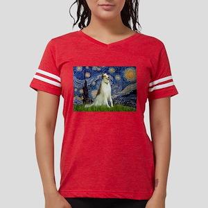 5.5x7.5-Starry-Borzoi1b Womens Football Shirt