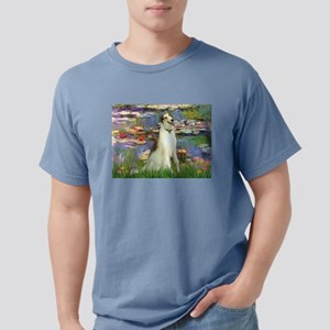 card-Lilies2-Borzoi1b Mens Comfort Colors Shir