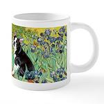 5.5x7.5-Irises-Boston4 20 oz Ceramic Mega Mug