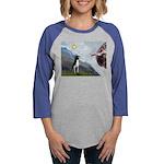 Boston Terrier 3 - Creation of Man Womens Baseball