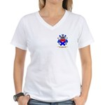 Moffett Women's V-Neck T-Shirt