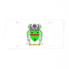 Mody Aluminum License Plate