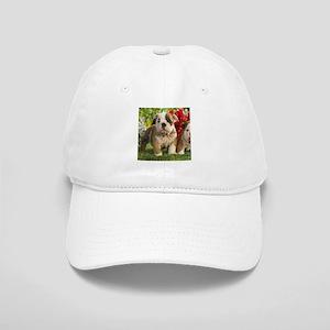 Cute English Bulldog Puppy Cap