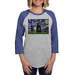 5.5x7.5-Starry-Bouvier1 Womens Baseball Tee