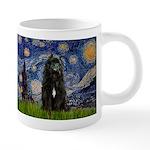 5.5x7.5-Starry-Bouvier1 20 oz Ceramic Mega Mug