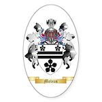 Mobius Sticker (Oval 50 pk)