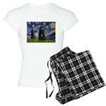 5.5x7.5-Starry-Bouvier1 Women's Light Pajamas
