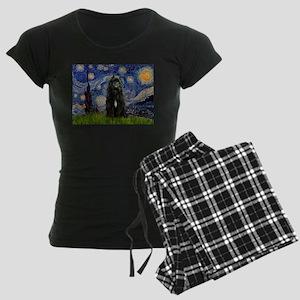 5.5x7.5-Starry-Bouvier1 Women's Dark Pajamas