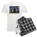 5.5x7.5-Starry-Bouvier1 Men's Light Pajamas