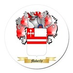 Moberly Round Car Magnet