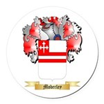Moberley Round Car Magnet