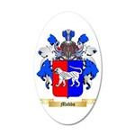 Mobbs 35x21 Oval Wall Decal