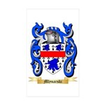 Mlynarski Sticker (Rectangle 50 pk)