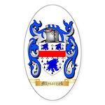 Mlynarczyk Sticker (Oval)