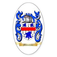 Mlinarski Sticker (Oval)