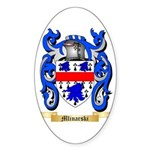 Mlinarski Sticker (Oval 50 pk)