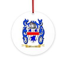 Mlinarski Round Ornament