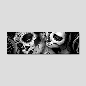 Dia De Los Muertos Car Magnet 10 x 3
