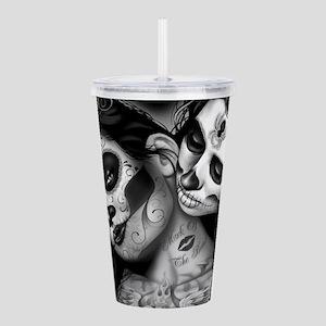 Dia De Los Muertos Acrylic Double-wall Tumbler