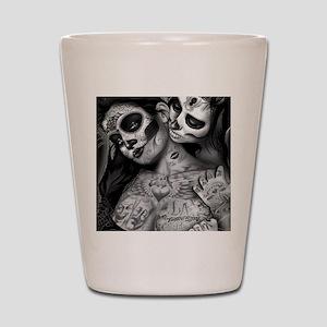 Dia De Los Muertos Shot Glass