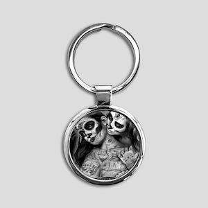 Dia De Los Muertos Keychains