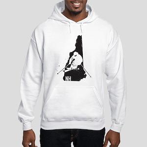 Ski New Hampshire Hooded Sweatshirt