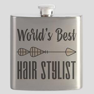 World's Best Hair Stylist Flask