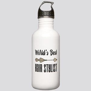 World's Best Hair Styl Stainless Water Bottle 1.0L