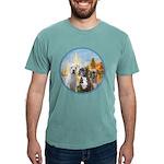2-Regatta - 3 Boxers Mens Comfort Colors Shirt