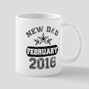 new dad february 2016 Mugs